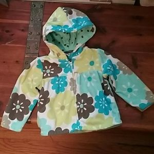 Carter's fleece hooded jacket
